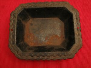 Antique Victorian Hall Tree Umbrella Stand Cast Iron Tray Replacement