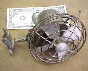 Antique liberty Brand Model A t Dash Fan 6 Volt Works Great