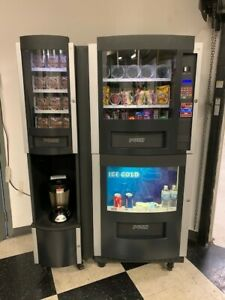 Vending Machine 1 800 Vending Rs800 0101 With Coffee Station 2121