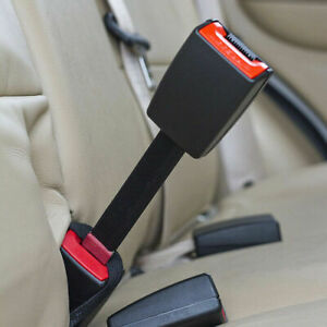 25cm Car Seat Belt Extender Extension Safety Buckle Clips Universal Adjustable