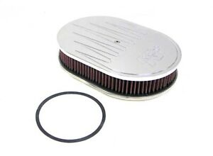 K N Filters 66 1550 Custom 66 Air Cleaner Assembly