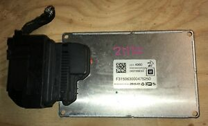 Rear Air Ride Suspension Active Damping Module 2014 16 Cadillac Xts 3 6l