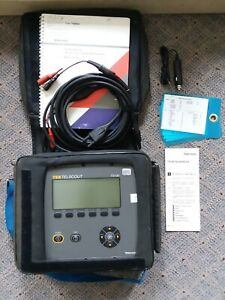 Tektronix Tek Telscout Ts100 Time Domain Reflectometer Used Cable Fault Tdr