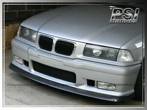 Carbon Fiber Ac Style Front Bumper Lip For 1992 1998 Bmw E36 M3 Coupe Sedan