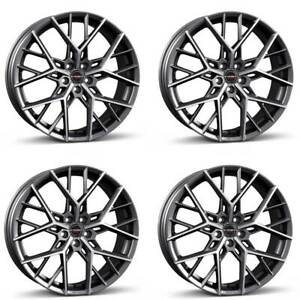 4 Borbet Wheels By 9 0x20 Et30 5x120 Titapm For Chevrolet Malibu
