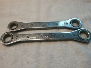 2 Mac Tools 12 Point Ratchet Wrenches 16mm 18mm 19mm 21mm