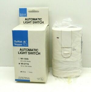 Wattstopper Wi 277a Passive Infrared Light Switch Occupancy Sensor 277v Only