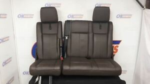 2015 16 17 Ford Expedition King Ranch Rear Seat Power Folding Del Rio Leather