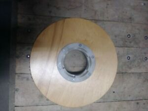 15 Inch Wood Pad Driver Scrubber Buffer