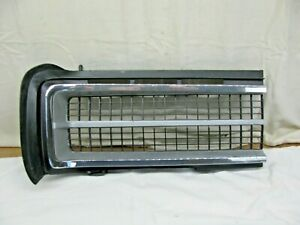 1968 1969 Pontiac Lemans Gto Rh Grill Section Clean Used Oem Part