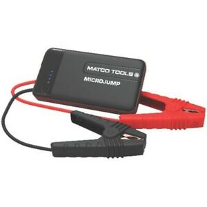 Matco Tools Microjump Portable Emergency Battery Jump Starter Power Bank