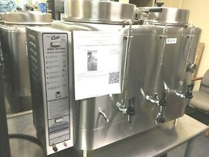 Coffee Brewer Curtis Ru 600 Commercial With 6 Dispensers 2 Flavors Electric