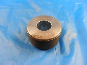 7240 Class X Master Plain Bore Ring Gage 7188 0052 Oversize 23 32 18 390 Mm