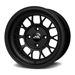 Drag Racing Abr Wheels 13x8 For Honda Civic Crx Acura Integra Miata Black