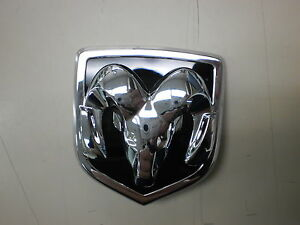 Dodge Challenger Rams Head Nameplate Oem Factory New Emblem 5155674aa Mopar Part