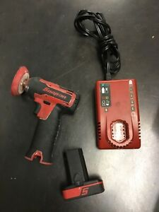 Snap On 14 4v Polisher Sander With Battery And Charger