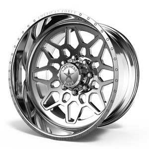 4x 24x14 American Force Ckh03 Orion Concave Wheels Ford Ram Gmc Chevy Forged