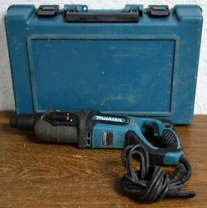 Makita Hr2475 1 Sds plus Rotary Hammer W Case tested