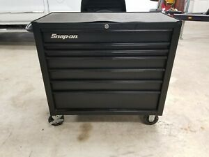 Snap On Kra4107 Tool Box 7 Drawer Flat Black Roll Around Cab