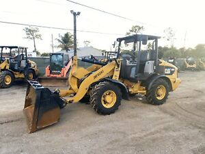2014 Caterpillar 906h Wheel Loader Articulated Quick Attach Gp Bucket