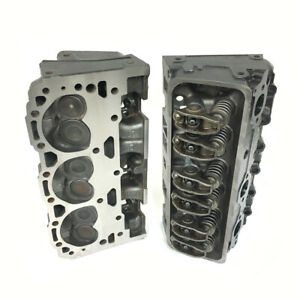 Gm Chevrolet Gmc 4 3l 262 Vortec Cylinder Head Assembly Set Genuine Oem 12557113