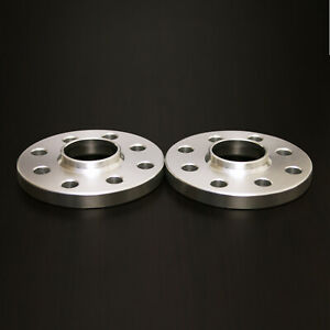15mm Hubcentric Wheel Spacers 4x100 4x108 For Audi Vw Bmw E30 57 1