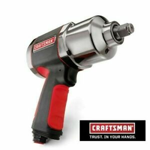 Craftsman 1 2 inch Heavy duty Composite Impact Wrench New Twin Hammer 919984