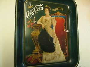 Coca Cola Metal Serving Tray, 75th Anniversary Numbered Ed.