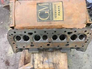 Nos 1957 Corvette Fuel Injection Cylinder Head 3731539