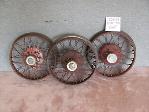 Vintage 19 Wire Spoke Wheels 1928 1929 1930 Pontiac Others Lot 109