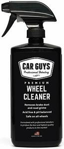 Wheel And Tire Cleaner Safe For All Wheels And Rims Works On Alloy Chrome A