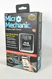 Genuine Micro Mechanic Obdii Wireless Code Reader Ios Android Newest Model