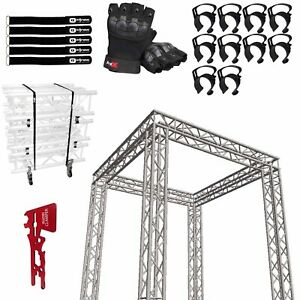 Global Truss Sq 10x10 Square Trade Show Booth With Accessories