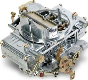 Holley 0 1850s Carburetor 600 Cfm Polished