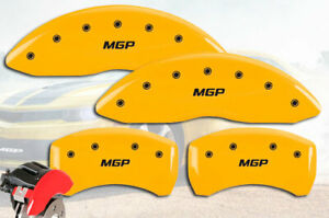 2018 2020 Jaguar E Pace Front Rear Yellow Mgp Brake Disc Caliper Covers 4pc