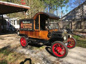 Model T Ford Delivery Body Plans