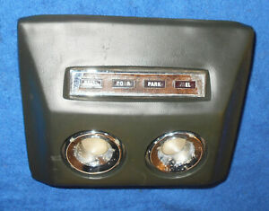 1967 1968 Mercury Cougar Xr7 Gt Xr7 G Gte Orig Ivy Gold Over Head Roof Console