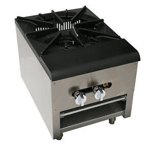 New 18 Single Stock Pot Range With Super Btu For Commercial Heavy Duty Use