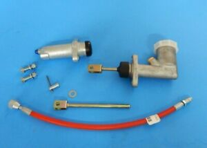 New Clutch Hydraulics Deluxe Kit Master Slave Hose Triumph Tr6 Tr250 1968 76