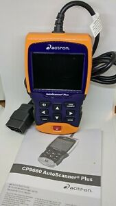 Actron Cp9680 Autoscanner Plus W Abs Airbag Coverage For All 1996 Newer