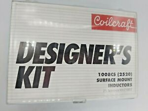 Coilcraft Designers Kit C100 2 1008cs 2520 Surface Mount Inductors