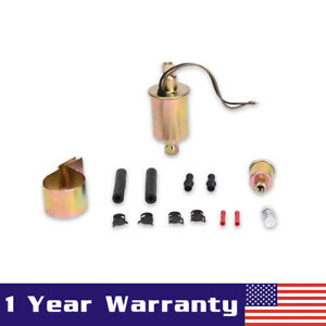 Universal Low Pressure In Line Electric Fuel Pump Installation Kit E8016s