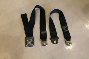 1969 Chevelle Seat Belts Model 1912 Blue Used