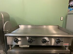 48 Commercial Flat Top Thermostatic Gas Griddle Grill