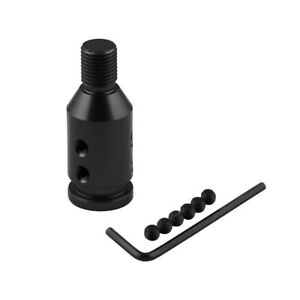 Shifters Shift Knob Adapter Universal Car Aluminum Non Threaded Fit For Bmw Mini