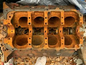 1969 Pontiac 428 Xf Engine Block Grand Prix Automatic