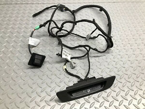 17 18 Chevy Cruze Trunk Lid Rear View Backup Camera And Trunk Lid Harness Oe Gm