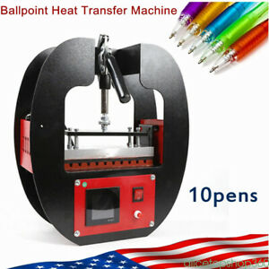 Manual Ballpoint Pen Heat Transfer Machine Pen Heat Press Machine Printing Logo