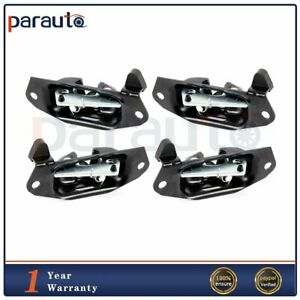 4pcs Tailgate Latch Left Driver And Right Passenger Fits Chevy Silverado Sierra