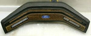 1978 1986 Ford Truck Bronco Steering Wheel Horn Pad Cruise F150 F250 Wood